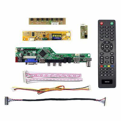 "Fit To 12.1"" LTN121XJ-L02 LTN121XJ-L07 1024x768 LCD HDMI VGA AV USB LCD Control 2"