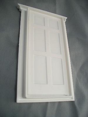 Half scale 1:24 victorian door jackson/'s miniatures plastic doll/'s house