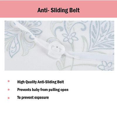 100% Breathable Cotton 3 in 1 Baby Breastfeeding Nursing Cover Generous Blanket 7