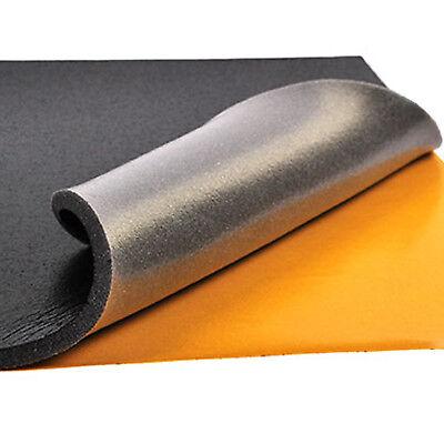 Schalldämmschaum Selbstklebend  Akustik Schaumstoff Dämmung Nicht Brennbar 1cm 2