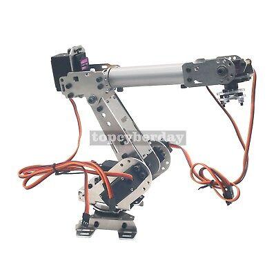 6-Axis S6 Industrial Mechanical Robot Arm Steel Metal Robotic Manipulator DIY UK 5