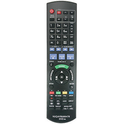 New Remote N2QAYB000479 for Panasonic DVD Recorder DMRXW380 DMRXW385 DMRXW390 6