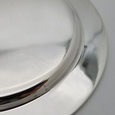 Tiffany & Co. Makers Sterling Silver ~5.5 In Cookie Saucer Bread Charger Plate 12