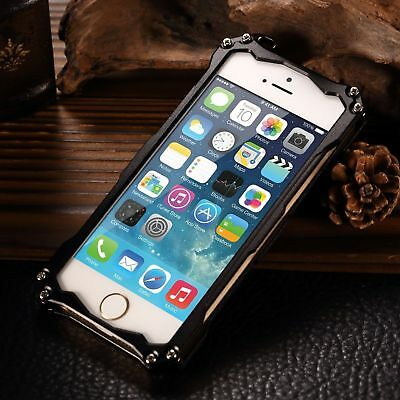 For iPhone 5s SE 6s 7 Plus Luxury Shockproof Aluminum Metal Slim Hard Cover Case 10