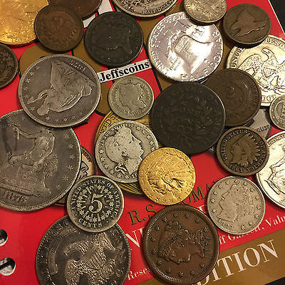 ✯Estate Sale Lot Old Us Coins✯ Money✯Gold Silver✯Big Value Collection 50 Years+✯ 6