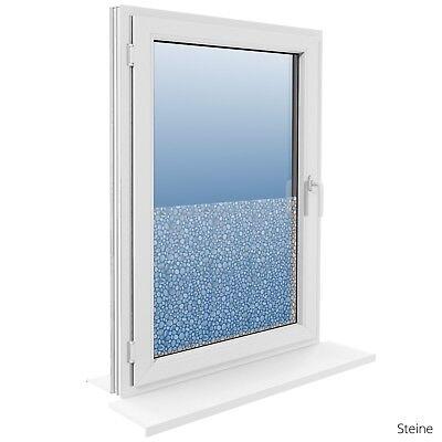 90 cm Fensterfolie Statische Sichtschutzfolie Milchglasfolie Glasdekorfolie 4