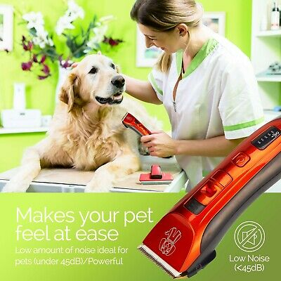 Cordless Dog Clipper Pet Grooming Kit Electric Trimmer Set for Animal Hair Cat 3
