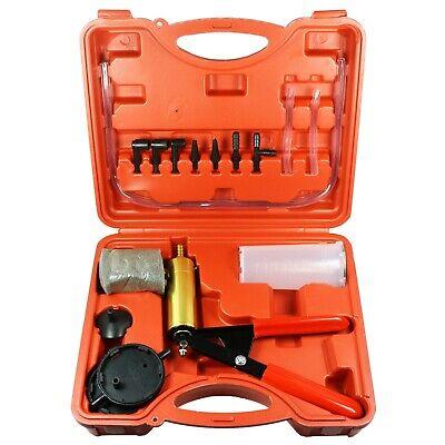 2 In 1 Brake Bleeder & Vacuum Pump Gauge Test Tuner Kit Tools DIY Hand Tools US 11