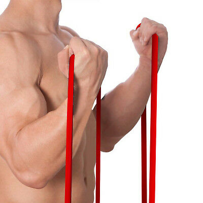 Power Resistance Rubber Band Chin Pull Up Training Exercise Gym - SINGLE BAND/S 6
