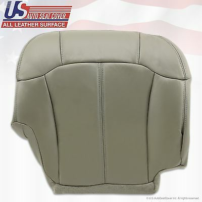 1999 2000 2001 2002 Chevy Tahoe Suburban Upholstery leather seat cover Gray 10
