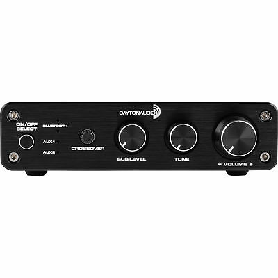 Dayton Audio DTA-2.1BT2 100W 2.1 Class D Bluetooth Amplifier with Sub Frequency 2