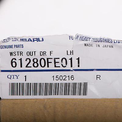 OEM 2002-2007 Subaru Impreza Left Outer Door Belt Weather Strip NEW 61280FE011