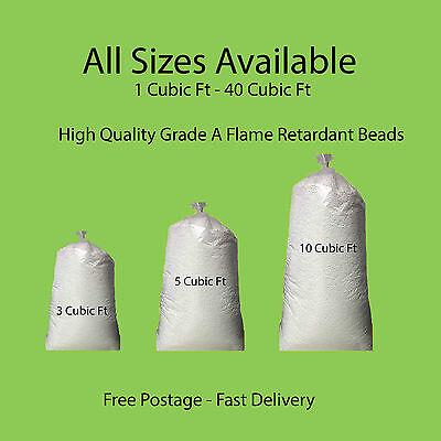 Bean Bag Booster Refill Polystyrene Beads Filling Top Up Bag  Beans Balls 2