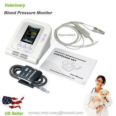 FDA Veterinary OLED digital Blood Pressure&Heart Beat Monitor NIBP CONTEC08A Vet 2