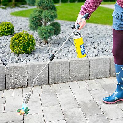 Weed Killer Remover Burner Wand Butane Gas Blowtorch Garden Patio Stone Tiles 3