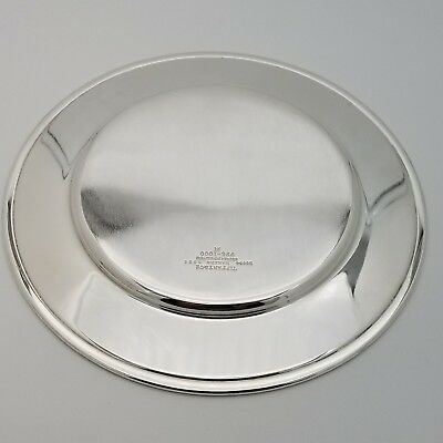 Tiffany & Co. Makers Sterling Silver ~6.5' In* Cookie Saucer Bread Charger Plate 7