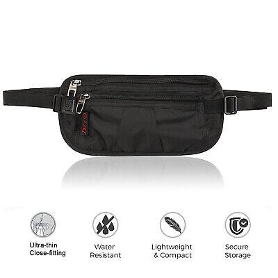 Slim Design Bumbag RFID Running Belt Water-proof Adjustable Waist Bag Travelling 5
