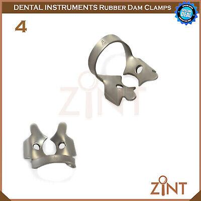 Rubber Dam Universal Clamps Upper & Lower Premolar Anterior Medesy Basic Set New 5