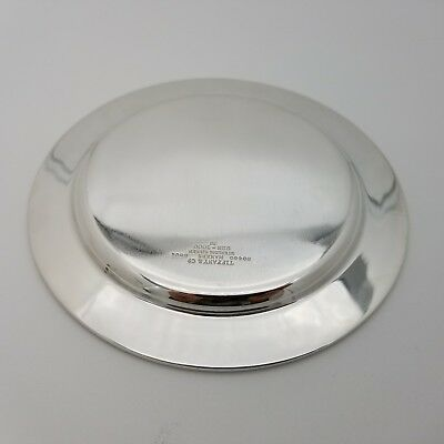 Tiffany & Co. Makers Sterling Silver ~5.5 In Cookie Saucer Bread Charger Plate 9
