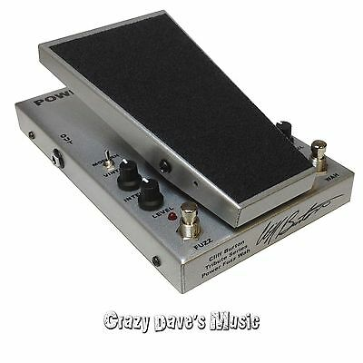 Morley Cliff Burton Metallica Tribute Series Power Fuzz Wah Effect Pedal PFW 7