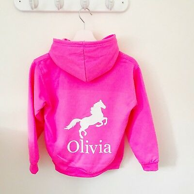 Girls Personalised Hoodie for Dance, Ballet, Tap, Activity Hoodie for Girls 10