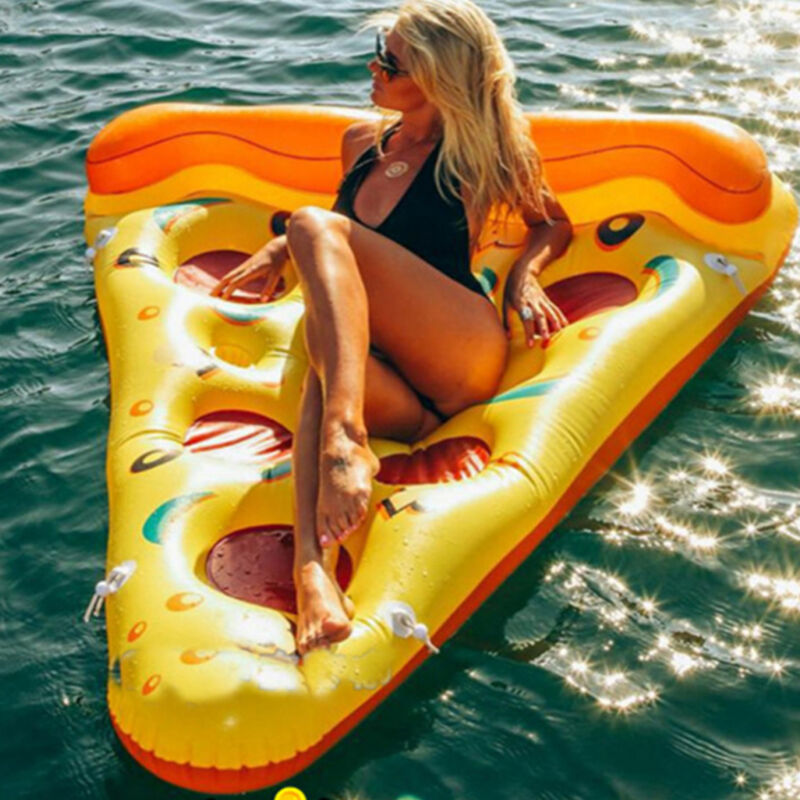Inflatable Giant Swim Pool Floats Raft Swimming Fun Water Sports Beach Toy UK 2