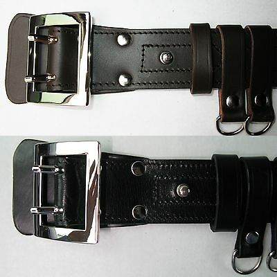 Nato 100% Natural Leather Military Army Police Gun Holster Bullhide Belt Clips 6
