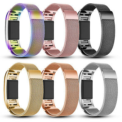For Fitbit Charge 2 Various Luxe Band Replacement Wristband Watch Strap Bracelet 6