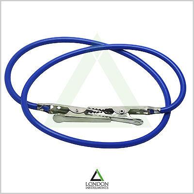 Dentist Napkin Holder Blue Bib Lock Clips Crocodile Flexible Silicon 2