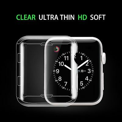 For Apple Watch Series 4 Screen Protector Cover Case Soft Clear Thin 40mm 44mm 2