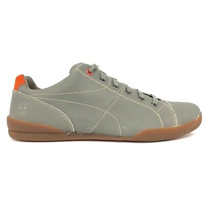 TIMBERLAND MEN'S EARTHKEEPERS Splitcup Cap Toe Taupe Orange