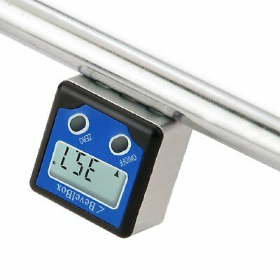 Electronic Digital Inclinometer Bevel Box Gauge Angle Protractor ±180°(0-360°) 8