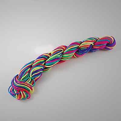Kumihimo Satin Nylon Rattail Cord - 1mm Nylon Thread - 24Mtrs skeins - New In!! 2
