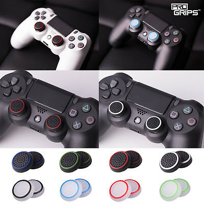 2 x Pro Grips™ Thumb Stick Covers Grip Caps For Sony PS4 Playstation Controller 4