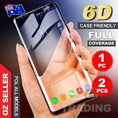 Galaxy S9Plus S10 5G Note9 S10e Full Tempered Glass Screen Protector For Samsung 2