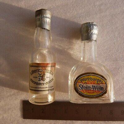 Bier- + Wein-Flasche - Kaufladen-Puppenstube - ca.1930 2