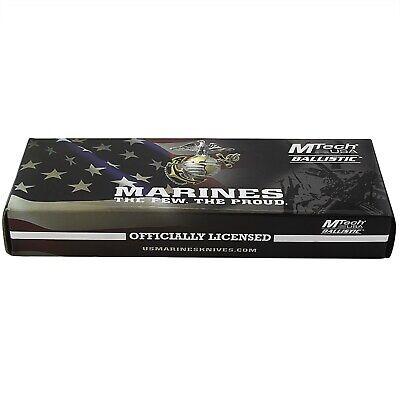 "9"" USMC MARINES TANTO SPRING ASSISTED TACTICAL FOLDING POCKET KNIFE EDC Open 3"