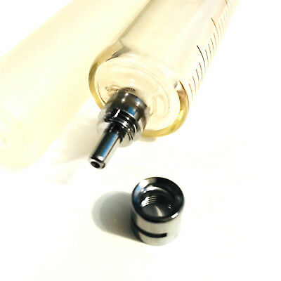 20 mL / cc GLASS SYRINGE LUER LOCK TIP TO SLIP TIP DISPENSE NEW FREE S&H USA 10