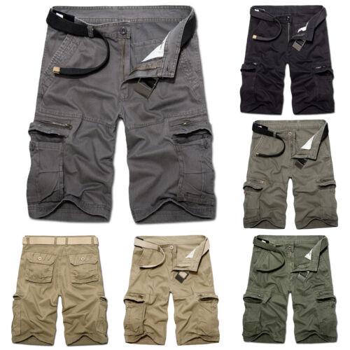 3497ea906c2f7 VINTAGE HERREN SHORTS CARGO SHORT Kurze HOSE Bermuda Army Military Capri  Pants