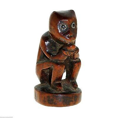 (0302) Chui-Tzu, Chinese ancestor of Netzuke, China, 18th c. or before, Wood 6