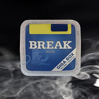 2x Break Blue Volumentabak Giga Box 250g 2