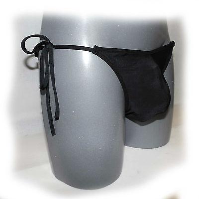 Sexy panty for man mit Schleife Blau - extra heiß -  (763) 5