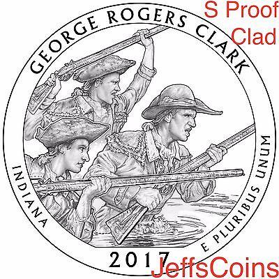 2019 S San Antonio Missions National Historical Park Quarter CLAD PROOF US.Mint 11