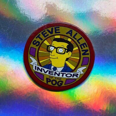 Alf Pog Set /& Steve Allen Inventor of Pogs Bart Simpsons Soul ☆ Remember Alf?