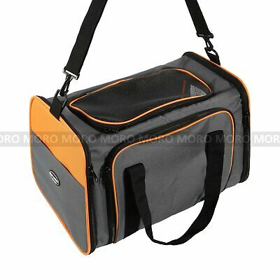 3 Size Expandable Pet Carrier Hand Shoulder Bag Kennel Cage Fr S-L Dog Cat Puppy 5