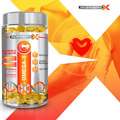 Omega 3 Fish Oil Softgels - Strongest Possible Pharma Grade 1000Mg -35% Dha/Epa! 2