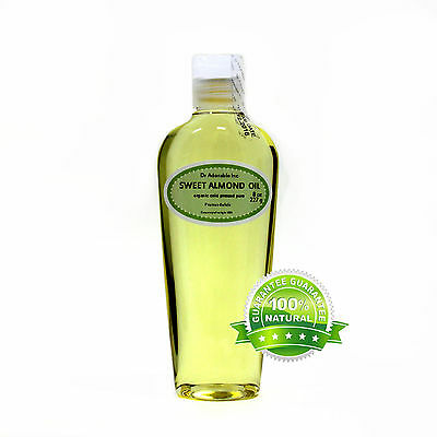 Sweet Almond Oil Cold Pressed Pure Organic *free S&h* 2