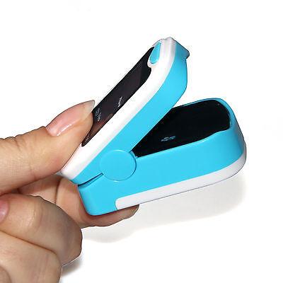 US seller Finger Pulse Oximeter Blood Oxygen Sensor O2 SpO2 Monitor Heart Rate 8