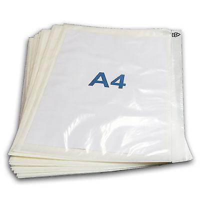 500 Pochettes Porte-document A4 adhésives transparentes 2