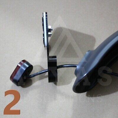 Soporte para matricula Alemana con Luz LED-Xiaomi mijia m365//m187//pro